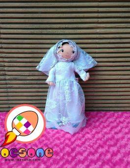 Boneka Muslimah Meela Meelo Karakter Bridal