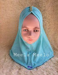 Jual Hijab Anak Murah (Arsyila hijab in Turquoise by Meela)
