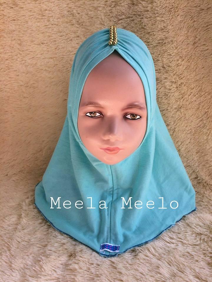 Jual Hijab  Anak Murah Arsyila hijab in Turquoise by Meela