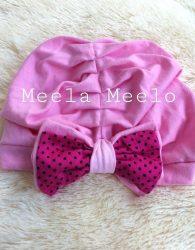 Turban Sabiya In Pink Untuk Anak