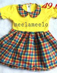 Baju Boneka Muslimah New Design in Yellow