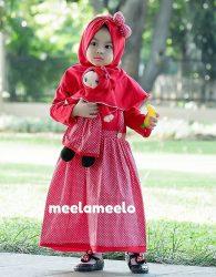 Paket Gamis Anak dan Boneka Muslimah Murah