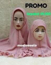 Paket Promo Jilbab Khimar Instan Antem