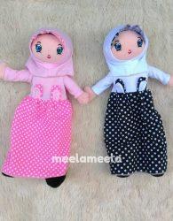 Boneka Anak Muslimah Karakter Kelinciku Terbaru