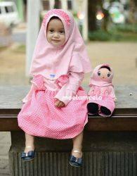 Produsen Gamis Anak Muslimah Kelinciku Kado Ulang Tahun