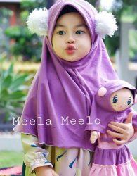 Hijab anak meela-meelo