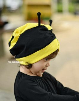 Turban Anak Karakter Lebah Unik dan Kekinian