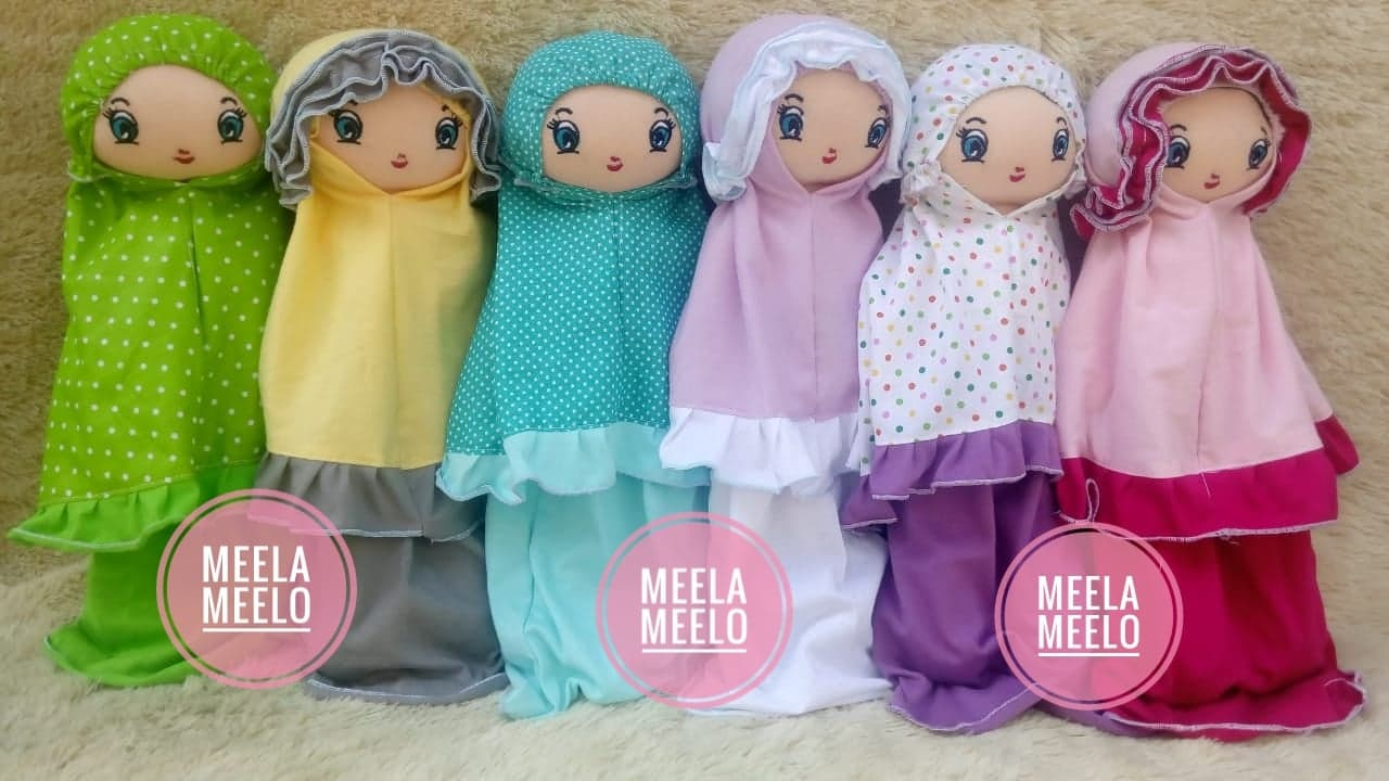 Koleksi Boneka Muslimah Kado Ulang Tahun Anak Unik