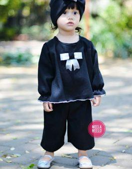 Paket Kulot Anak Ghania in Black