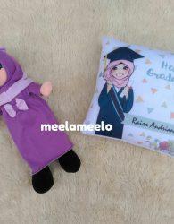 Sale Paket Boneka Muslimah Gratis Bantal Foto
