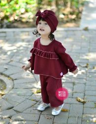 Jual Kulot Anak Muslimah Cantik Kado Ulang Tahun