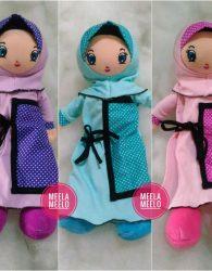 Boneka Anak Muslimah Kado Unik dan Kekinian