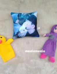 Promo Paket Boneka Muslimah Gratis Bantal Foto dan Boneka Tangan