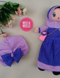 Desember Sale Paket Boneka Muslimah dan Turban Anak
