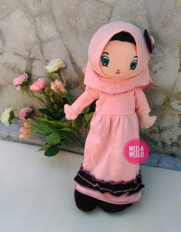 Boneka Muslimah JAN Peach Series