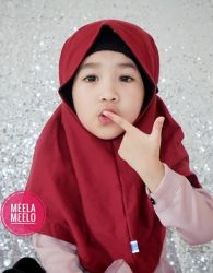 PROMO Jilbab Anak Ready Stock dan Ukuran Lengkap