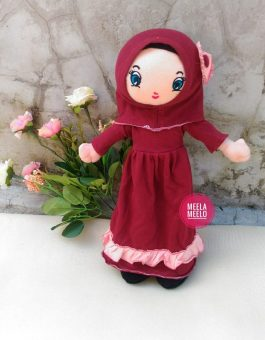 Boneka Muslimah JAN Red Series