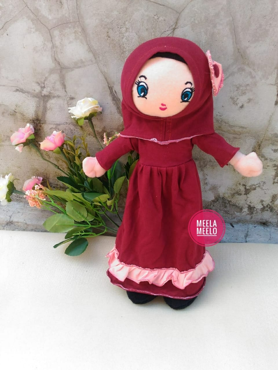 Boneka Muslimah JAN Red Series