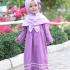 Promo Paket Long Dress dan Jilbab Anak