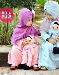 Toko Kado Boneka Muslimah untuk Baby Girl Twin