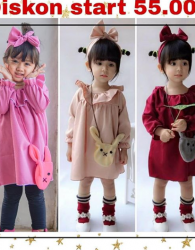 Diskon All Item 10% Produk Dress Anak