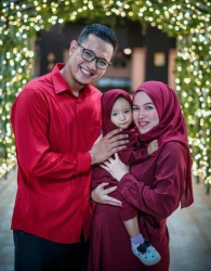 Open PO Gamis Syari Couple Mom and Kid