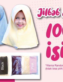 Paket Jilbab Anak 100 Ribu Dapat 3