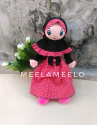 Boneka Muslimah ala Minnie Mouse Costume New Edition