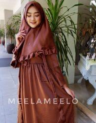 Cantiknya Gamis Jamilah Meela Meelo