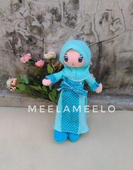 Promo Boneka Muslimah in Light Blue 60K ONLY