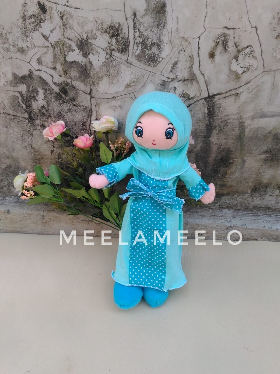 Promo Boneka Muslimah in Light Blue 60K ONLY