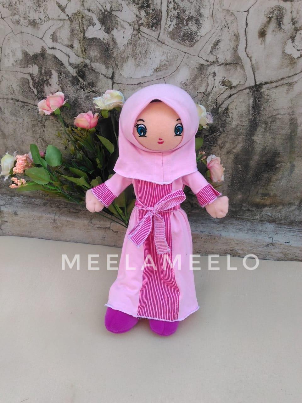 Promo Boneka Muslimah in Pink Purple 60K ONLY