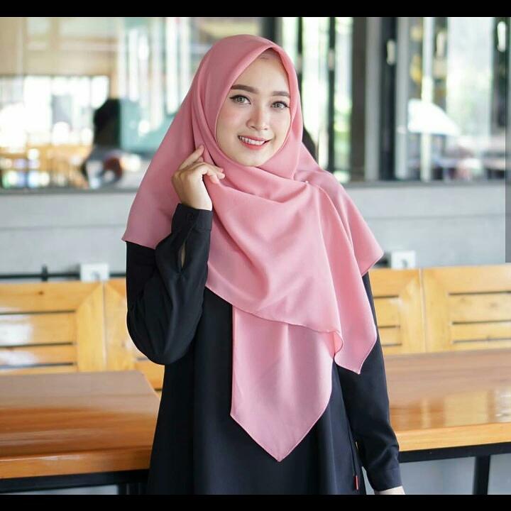Promo Jilbab Instan Serba 29 Ribu in Dusty Pink