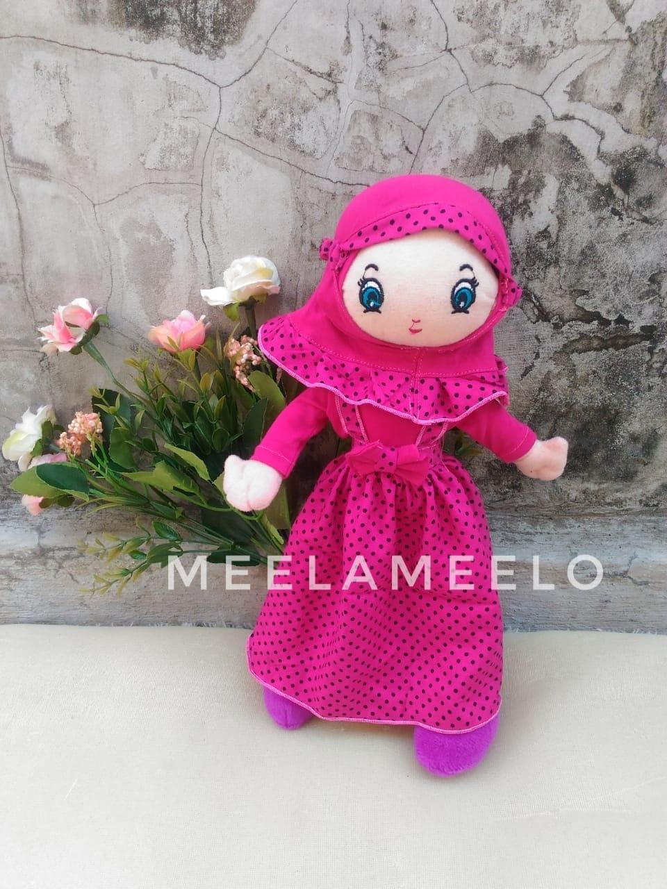 Promo Boneka Muslimah in Pink Fanta  60K ONLY