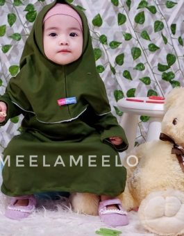 New Edition – Gamis Haura in Green