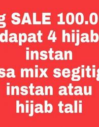 BIG SALE Jilbab Instan ONLY 100K Dapat 4 Produk
