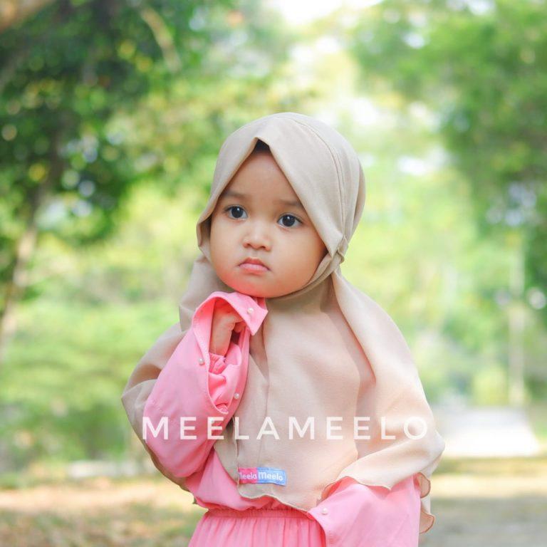 Edisi Promo Jilbab Anak in Cream