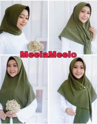 Cantiknya Jilbab Instant Meela Meelo in Green