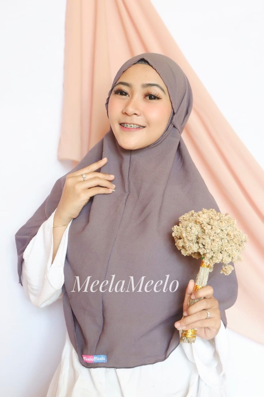 Jilbab Instant Salwa Soft Colour Trendy