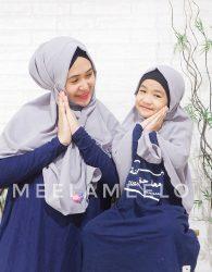 Jilbab Instan Couple Mom and Kids