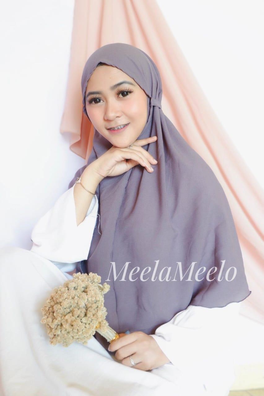 Jilbab Instant Salwa in Grey