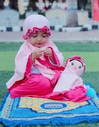 SALE Mukena Anak dan Boneka Muslimah