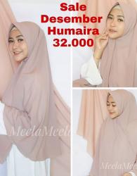 Sale Desember Humaira 32K ONLY