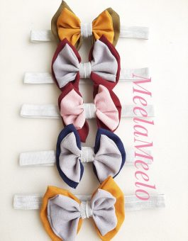 Headband Pita Anak Multi Colour