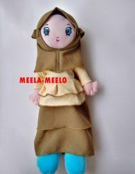 Boneka Muslimah Edisi Terbaru Meela Meelo
