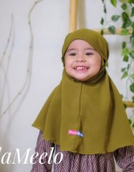 Launching Jilbab Anak Model Tali Kekinian