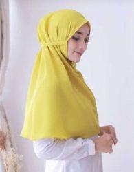 Promo Jilbab Instant Edisi Dewasa Warna Cerah