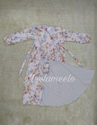 Gamis Floral Anak Meela Meelo Limited Edition