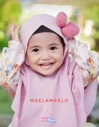 Launching Jilbab Anak Bilqies Pompom Pita Series