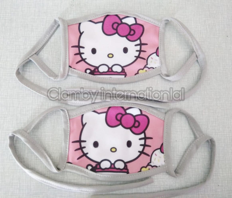 Promo Masker Karakter Hello Kitty
